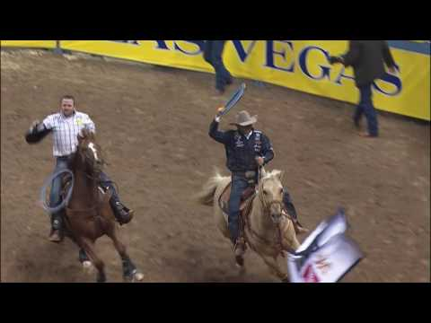 Brown & Long 4 Second Team Ropers | WNFR 2016 | Round 2