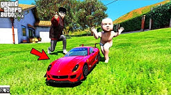 GTA 5-*WOW* Baby's FIRST Mini Ferrari Super Car(GTA 5 Real Life Mods SS12 #17)