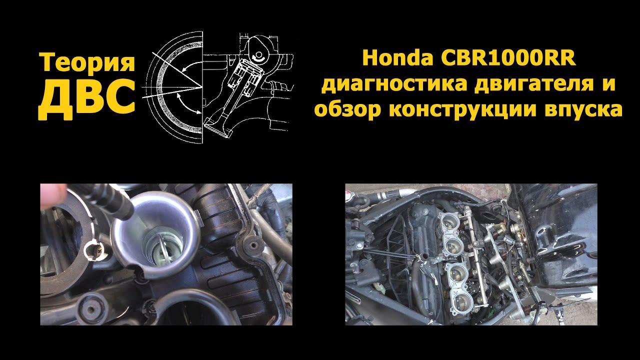 ремонт двигателя honda cbr 1000 rr