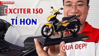 Cận cảnh Yamaha Exciter 150cc TÍ HON hàng triệu người mê 😍
