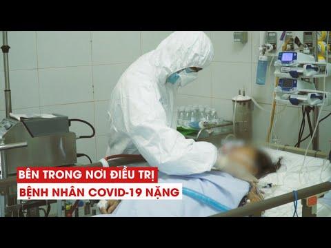 Cận cảnh khu điều trị bệnh nhân Covid-19 nặng ở Bệnh viện Phổi Đà Nẵng