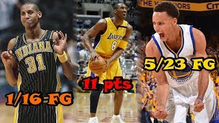 6 TERRIBLE Finals Performances By NBA Stars