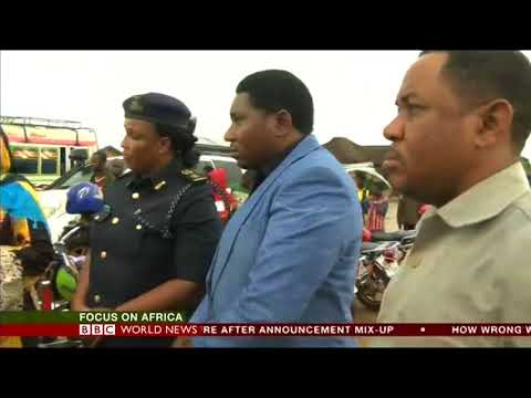Mozambique Illegal Immigrants crackdown