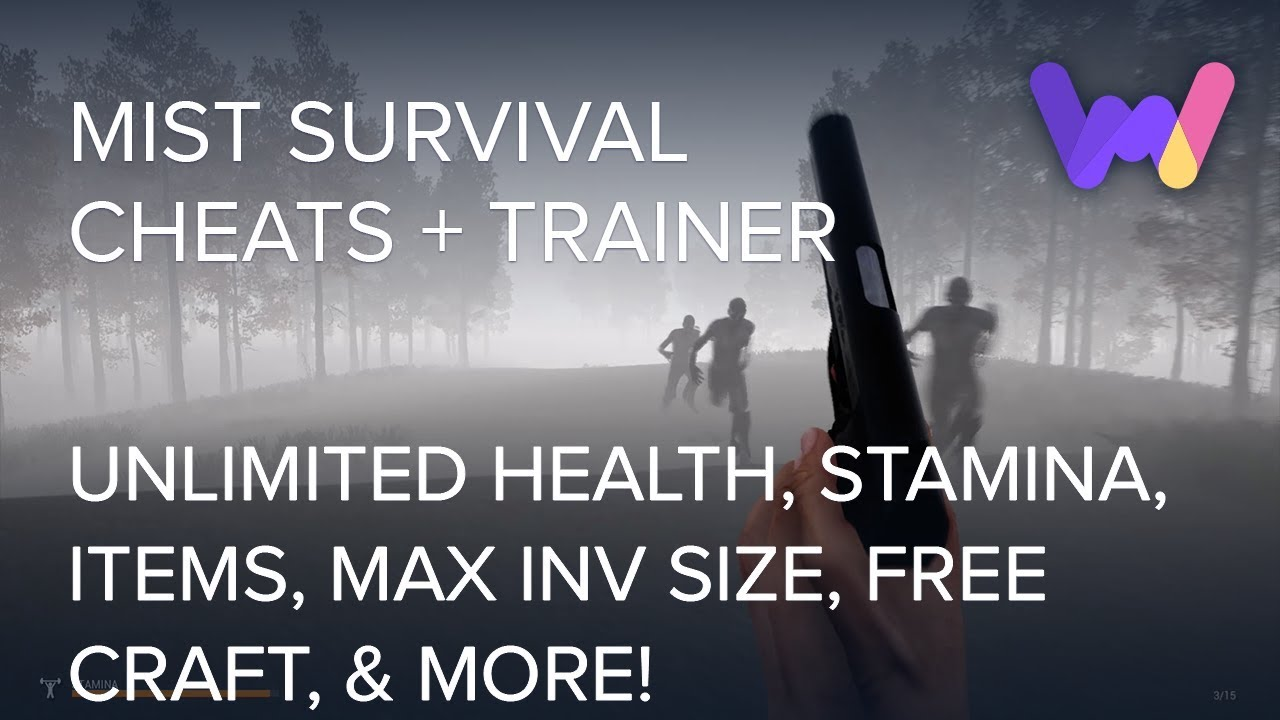 Mist Survival Trainer +11 Cheats (Unlimited Health, Stamina, Ammo, Free  Craft, & More!)