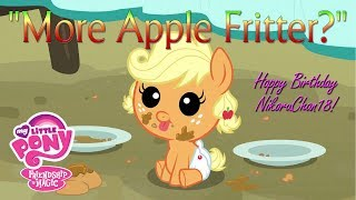 MLP: More Apple Fritter fandub clip - Happy Birthday NikoruChan18!