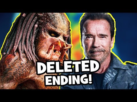 The Predator&39;s DELETED ENDING & 7 SCENES You Never Got To See