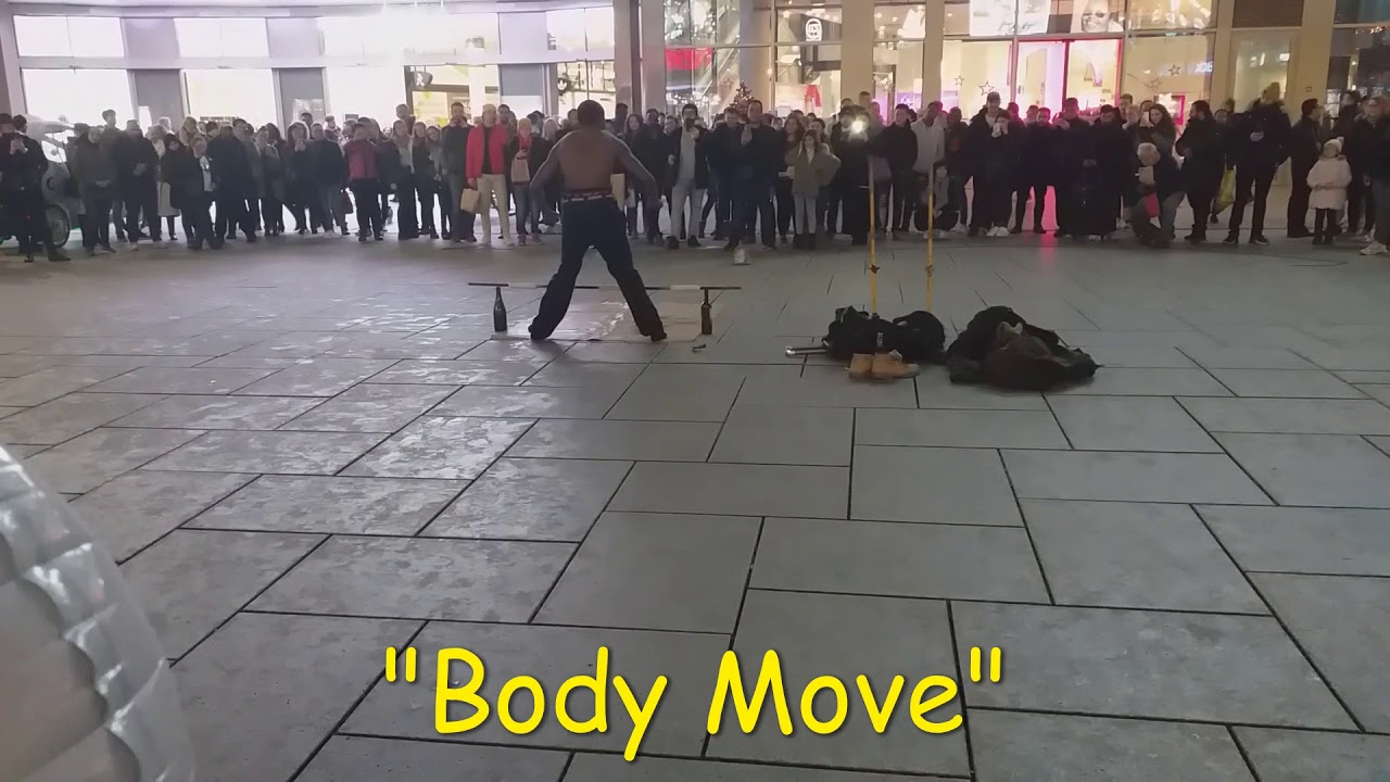 Only in Frankfurt Body Move Part 2 - YouTube