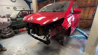 Repairing A Cat S Insurance Total Loss Salvage Peugeot 108