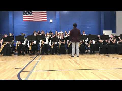 Thomas C Cario Middle School Jazz Band Concert 2/26/19