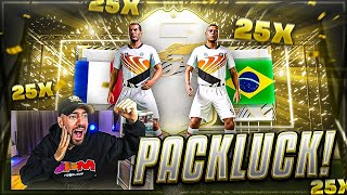 FIFA 21: OHA! 25x BASE ICON PACK EXPERIMENT (pack luck) 😱🔥 Best of Livestream Pack Opening