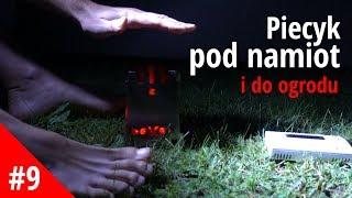 (DE) Niezwykły piecyk pod namiot i do ogrodu, czyli patent na biwak