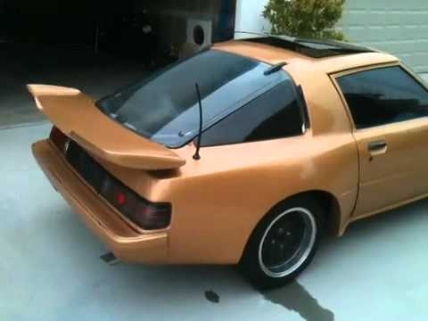 1983 Mazda RX7 (Mariah Wide Body & Streetported)