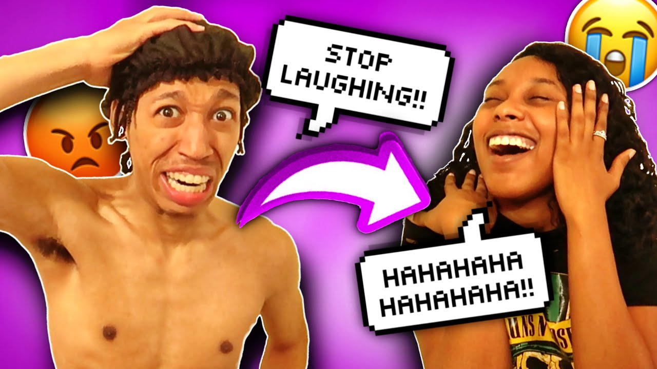 YOUR LAUGH IS ANNOYING PRANK ON GIRLFRIEND! - YouTube