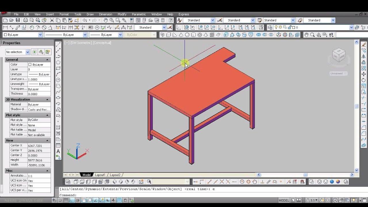 AutoCad tutorial - video dailymotion