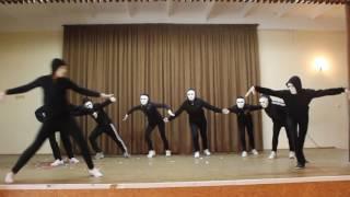 Фестиваль танцев 2016 - СУПЕР Танец в масках - 8 Б - Школа 15 - Севастополь