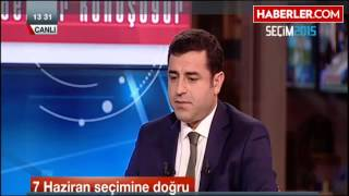 NTV Canlı Yayınında Selahattin Demirtaş'ı Utandıran İltifat: Yuvamı Yıkacaksınız