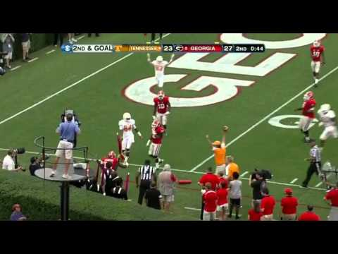 Tyler Bray vs Georgia 2012