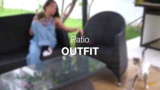 Patio OUTFIT | 1 minute OUTFIT