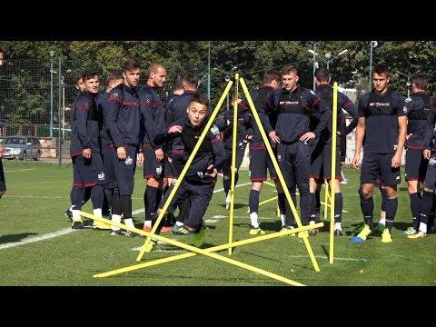 Ostatni trening przed meczem z Koroną Kielce