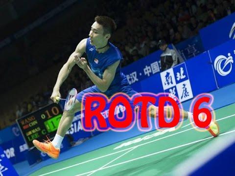 Rallies Of The Day 6 - Lee Chong Wei vs Lin Dan | 2016 Badminton Asia Championships MS SF