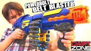 THE POWERBOLT BELT BLASTER BY DART ZONE WITH WILLIAM-HAIK!