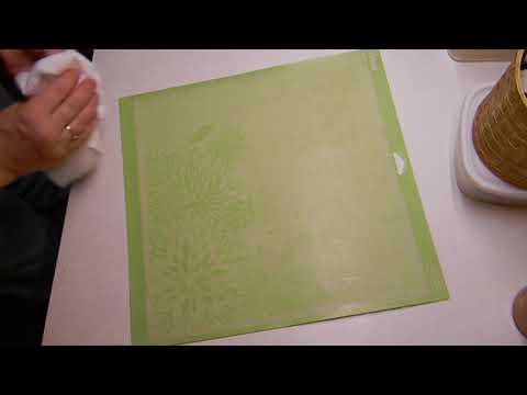 How I clean my Cricut cutting mat