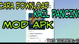 Gambar cover Cara download Kail pancing mod unlimited money
