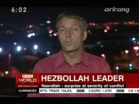 BBC WORLD NEWS opening 2006 Hezbollah comments