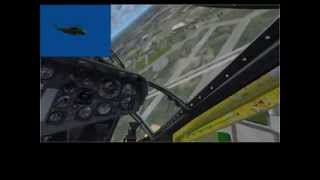 Sikorsky CH-53A Sea Stallion Air Display using TrackIR Pro 5