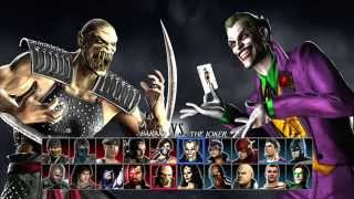 Mortal Kombat vs DC Universe_2-player gameplay part 1