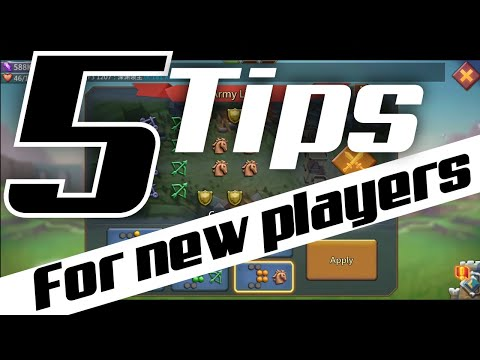 5 Tips For Beginner Players In Lords Mobile