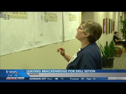 Longtime 'Brack' employee prepares for move to Dell Seton Medical Center