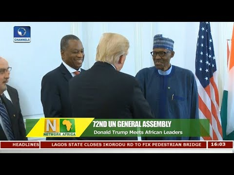 Donald Trump Meets African Leaders At 72nd UN General Assembly | Network Africa |
