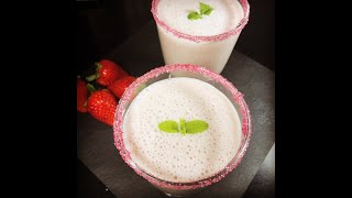 Delicious Strawberry Smoothie Recipe (সুস্বাদু স্ট্রবেরি স্মুদি রেসিপি)
