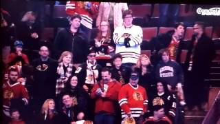 Jonathan Toews goes out during the wrong time for the 3 Stars selection