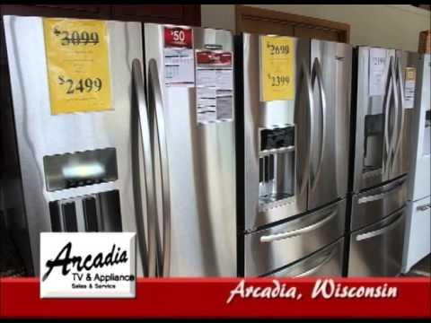 Arcadia Wisconsin's Arcadia TV & Appliance On Our Story's The Tourists