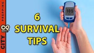 Prepping with diabetes - how to survive after a disaster