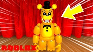 How To Unlock Golden Freddy in Roblox Fredbear and Friends Family Restaurant