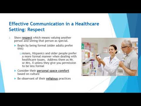 Basic Communication Techniques In Healthcare