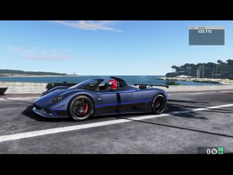 PS Project CARS Cool Ride On The French Riviera With A Zonda - Cool french cars