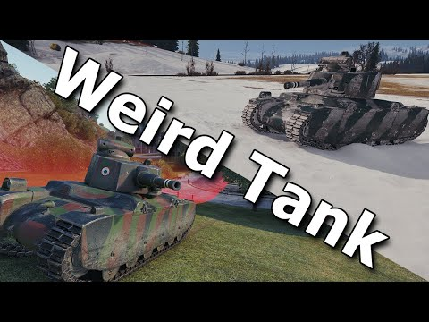 This Weird Tank.. - Renault G1 - World Of Tanks