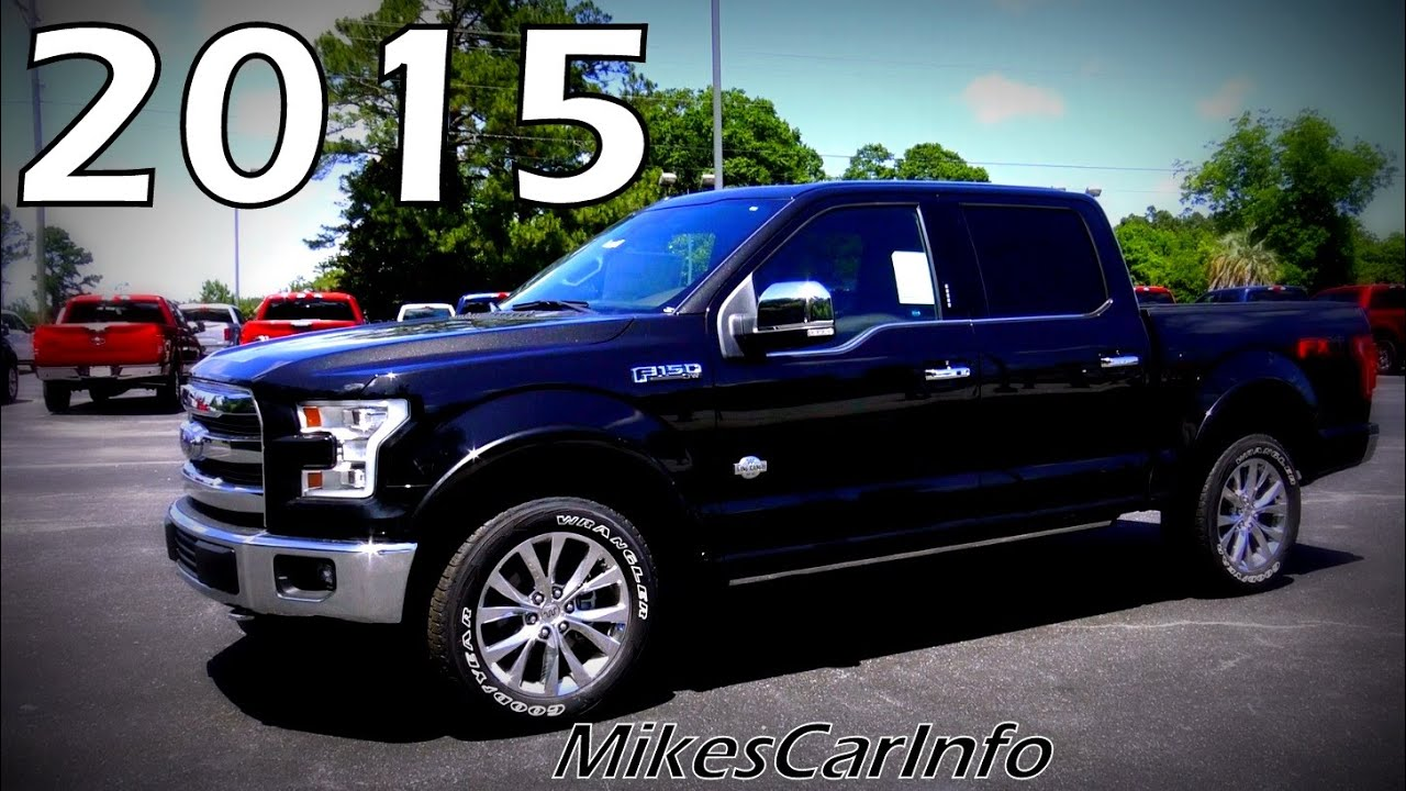 2015 Ford F 150 King Ranch Crew Cab 4WD  YouTube