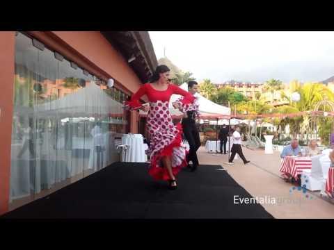 Grupo de baile flamenco para eventos