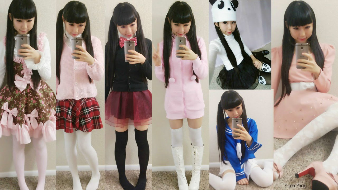 10 Cute Fall Outfits In 2 Minutes Bunny Panda Cat School