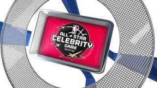 All Star Celebrity Game: Team USA vs Team Canada Highlights - NBA All Star 2015-16
