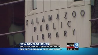 Kalamazoo Public Library closes 2nd branch due to bed bugs