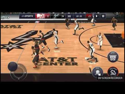 2019 NBA FINALS RECAP! AMAZING HIGHLIGHTS! SAN ANTONIO SPURS VS ATLANTA HAWKS! NBA Live Mobile 18