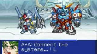 GBA Super Robot Taisen Original Generation 2 Team SRX/R-Gun All Attacks
