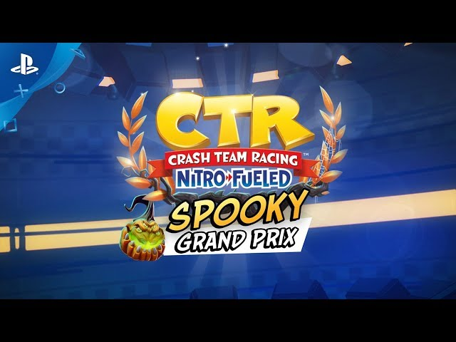 Crash Team Racing Nitro-Fueled - Spooky Grand Prix Intro | PS4