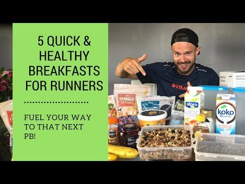 Quick Breakfast Ideas for Runners on the Go plus my Race Day Diet! Ben Parkes